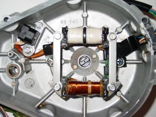Yamaha 760 Stator Service