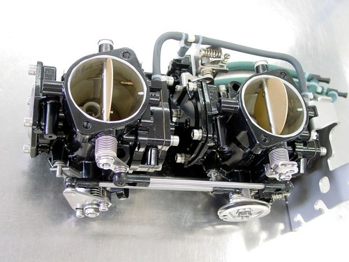 Yamaha Xl 800 GP 800  twin 46I Mikuni carb rack