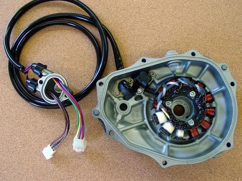 Kawasaki 1100ZXI   1100 SXR  high output stator service