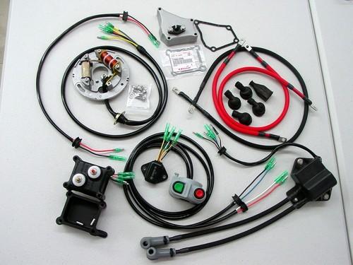Kawasaki X2 electric system restoration service