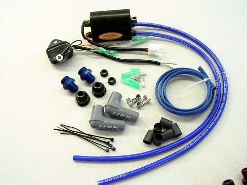 Kawasaki JS550   550sx  js440  igniter CDI  spark plug wire replacement service