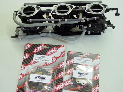 Kawasaki 1100 ZXI  STX 900  CDK2 type carb services