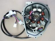 Kawasaki 750sx 750sxi 750ss 750xi stator and cover remanufacture service